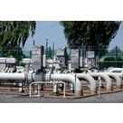 Natural gas - building of a brand new pressure lowering station